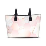 Flamingo Life Marbled Hex Tote - The Flamingo Shop