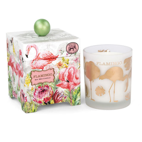 Flamingo 14 oz. Soy Wax Candle - The Flamingo Shop