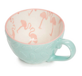 Flamingo Mugs, Set of 4 - The Flamingo Shop