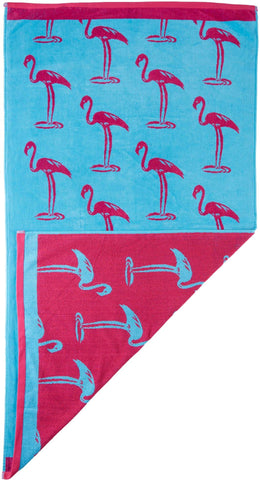 Flamingo Beach Towel - The Flamingo Shop