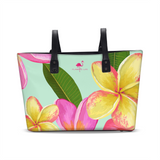 Tropical Flowers Tote - The Flamingo Shop