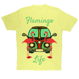 Flamingo Life Adult T-Shirt - The Flamingo Shop