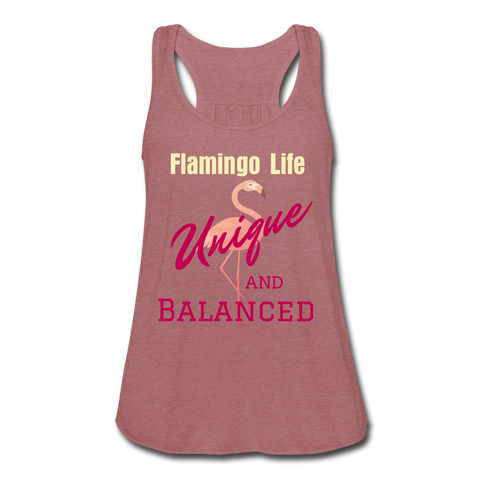 Flamingo Life Unique and Balanced Flowy Tank Top - The Flamingo Shop