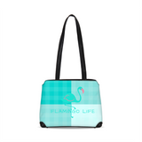 Flamingo Life Green Plaid Shoulder Bag - The Flamingo Shop