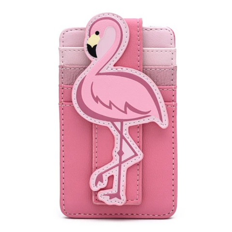 LOUNGEFLY POOL PARTY FLAMINGO CARD HOLDER