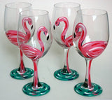 Flamingo Wine Glass - The Flamingo Shop