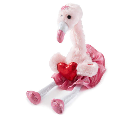 Sweetheart Animated Singing Plush Flamingo - The Flamingo Shop