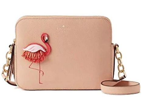 Kate Spade Camera Handbag By the Pool - Flamingo - The Flamingo Shop