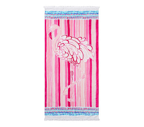 Lilly Pulitzer Flamingo Beach Towel - The Flamingo Shop