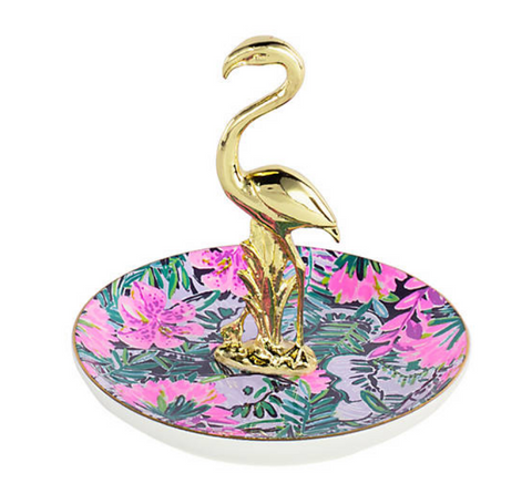 Lilly Pulitzer Flamingo Ring Holder - The Flamingo Shop