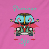 Flamingo Life Women's Fitted Long Sleeve Tee - The Flamingo Shop