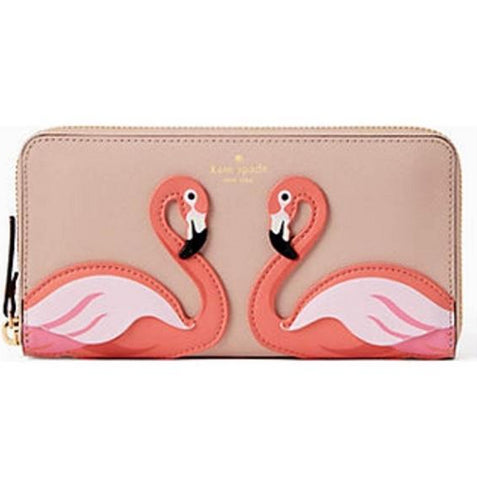 Kate Spade By The Pool Flamingo Wallet - The Flamingo Shop