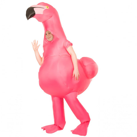 Kids Flamingo Inflatable Costume - The Flamingo Shop