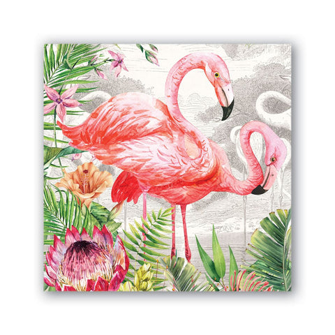 Flamingo Cocktail Napkin - Michel Design Works
