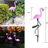 Flamingo Lawn Solar Lights Waterproof Led - The Flamingo Shop
