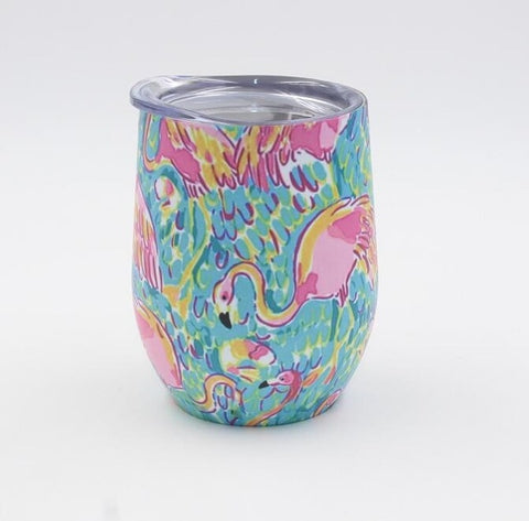 12 oz Insulated Tumbler - The Flamingo Shop