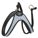 Flamingo Print Pet Harness