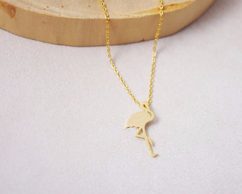 Fashion Plain Flamingo Womens Necklace - The Flamingo Shop