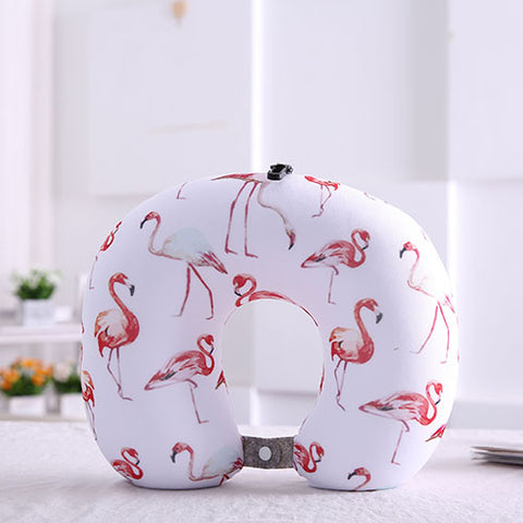 Flamingo Travel Neck Pillow - The Flamingo Shop