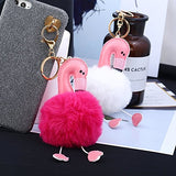 Flamingo Keychain Bag / Car Pendant - The Flamingo Shop