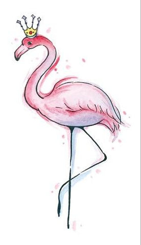 Flamingo Temporary Tattoo - The Flamingo Shop