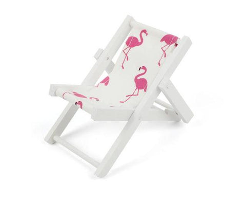 Mini Flamingo Beach Chair (Dollhouse/Cellphone Holder) - The Flamingo Shop