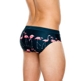 Men Flamingo Briefs Bikini Low - The Flamingo Shop