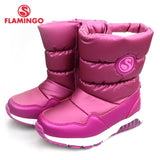 FLAMINGO Winter Wool Childrens High Quality Snow Boots - The Flamingo Shop