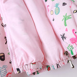 Infant Hooded Flamingo Jacket