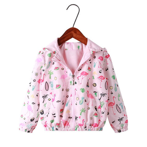 Infant Hooded Flamingo Jacket - The Flamingo Shop