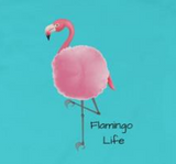 Flamingo Life Girls Princess Tee - The Flamingo Shop