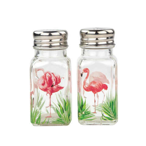 Michel Design Works Flamingo Salt and Pepper Set - The Flamingo Shop