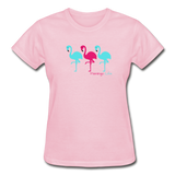 Flamingo Life Ultra Cotton Ladies T-Shirt - light pink