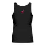Women's Be YOU tiful Flamingo Life Tank - black
