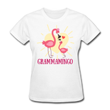 Grammamingo Flamingo Lover's Women's T-Shirt - white