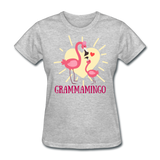 Grammamingo Flamingo Lover's Women's T-Shirt - heather gray