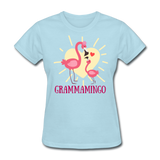 Grammamingo Flamingo Lover's Women's T-Shirt - powder blue