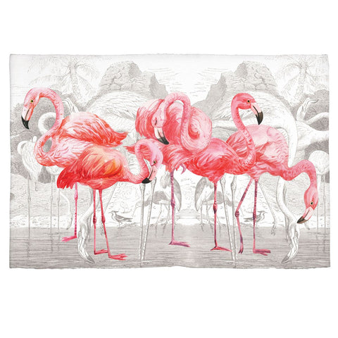 Michel Design Works Flamingo Scatter Rug - The Flamingo Shop