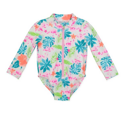 Tommy Bahama® Flamingo Infant Rashsuit