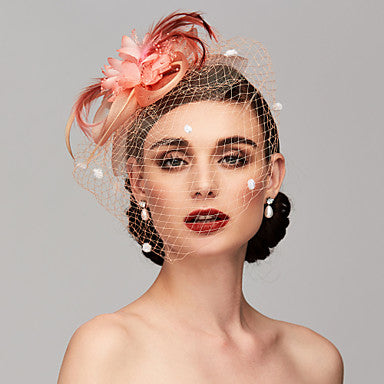Feather Fascinators Headpiece - The Flamingo Shop