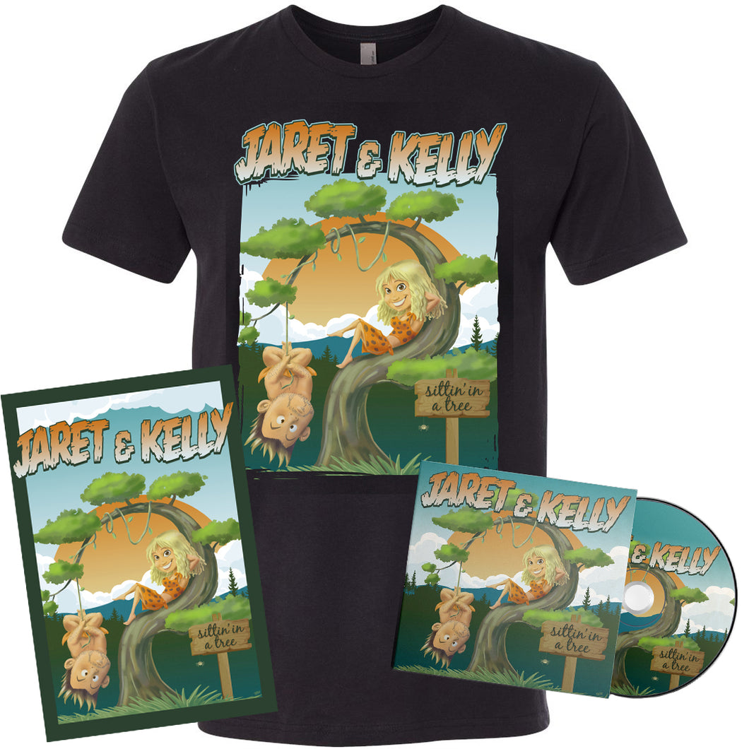 Exclusive Album Art Shirt + Autographed CD & Poster