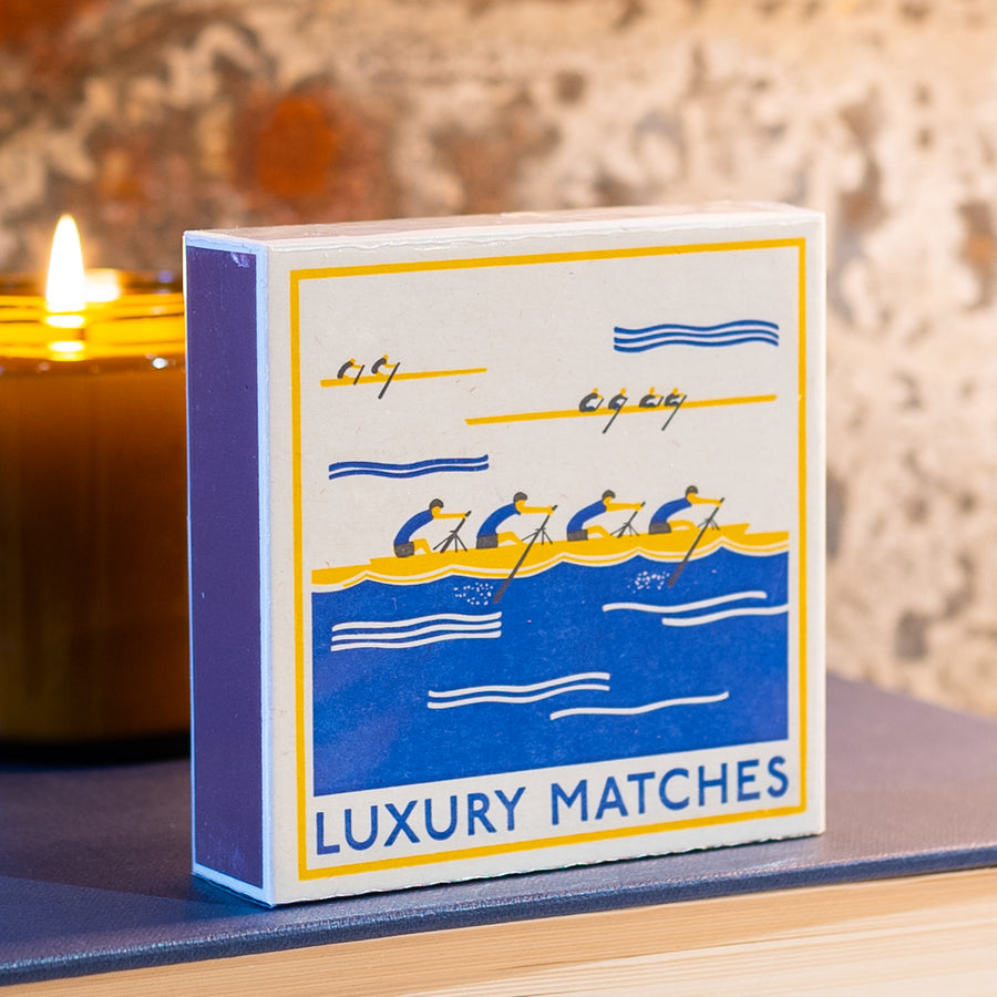 125 Luxury Matches With Vintage Rowing Graphic By Archivist #8