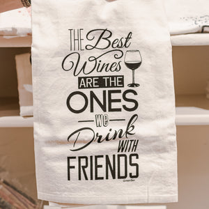 Best Wines Cotton Tea Kitchen Towel