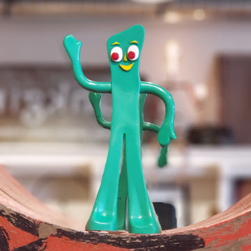 Gumby & Pokey Vintage Bendable Flexible Poseable Toys New in Package