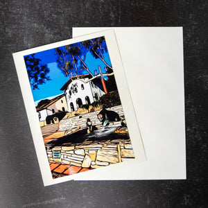 SLO Mission Greeting Card