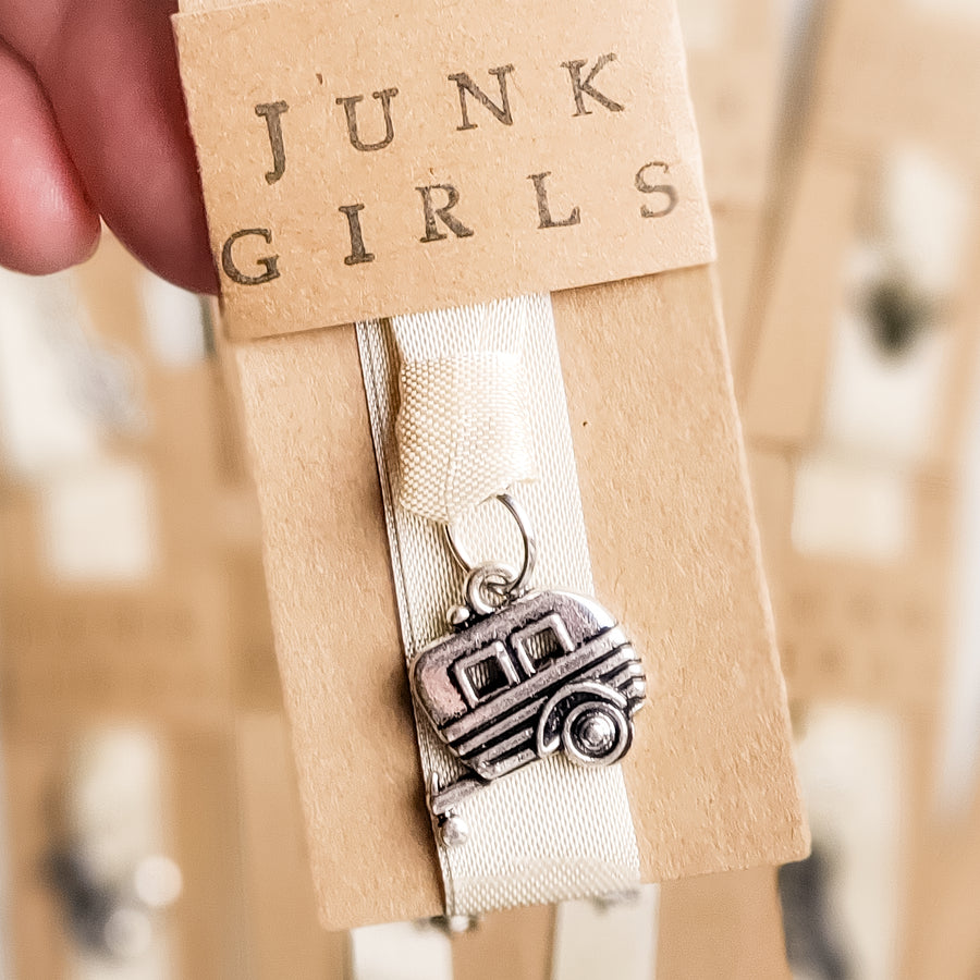 Assorted Charm Bookmarks with Ribbon Junk Girls