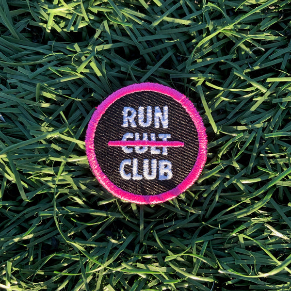 Run Club Devotee Merit Badge for Runners Race Day Rangers