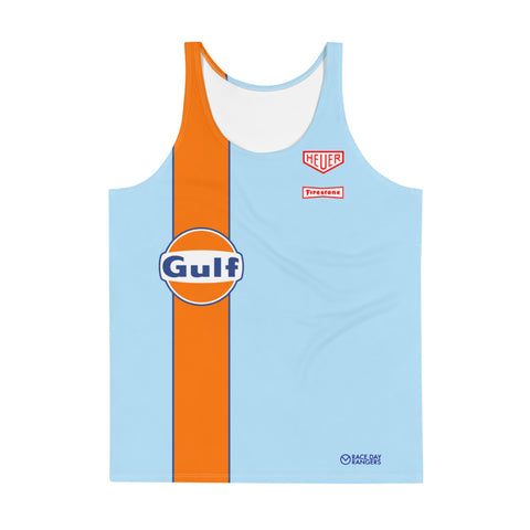 Gulf Racing Men's Performance Running Tank