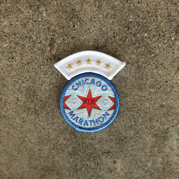 race day rangers 5 star finisher insignia world major marathon patch for runners chicago 2019