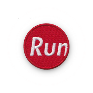A Run Supreme Merit Badge Patch for Runners